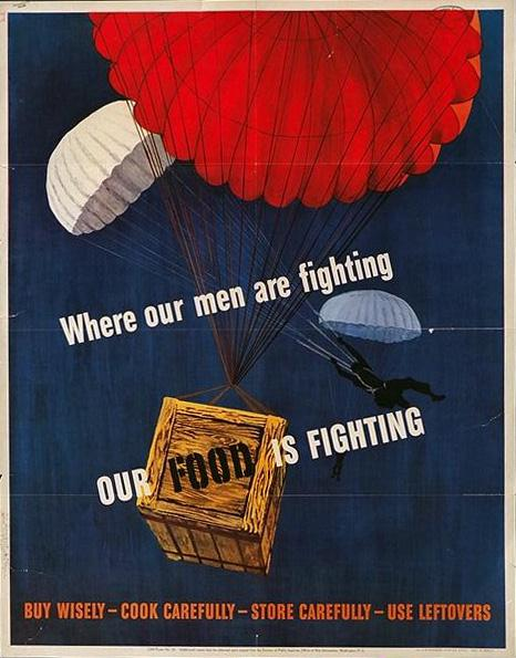 Where our men are fighting, out men are fighting WW2 Poster