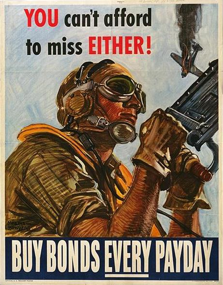 You can't afford to miss either WW2 Poster