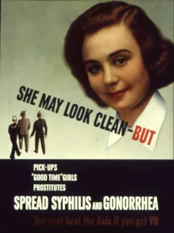 She may look clean BUT WW2 Poster