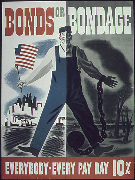Bond or Bondage WW2 Poster