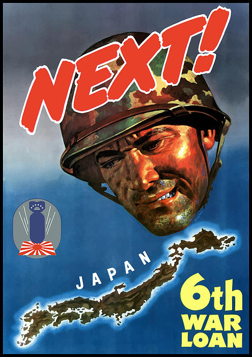 NEXT 6th war loan WW2 Poster