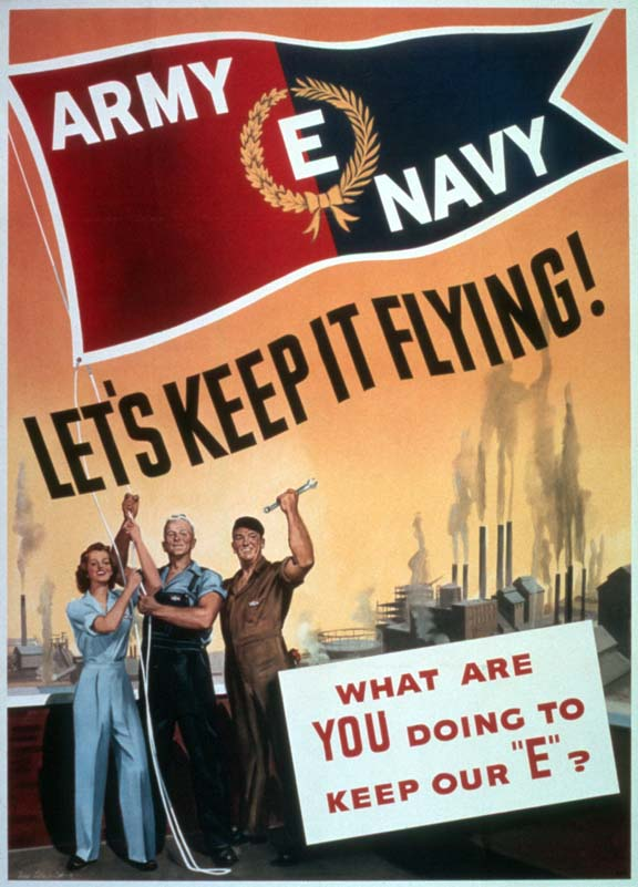 Let's keep it flying WW2 Poster