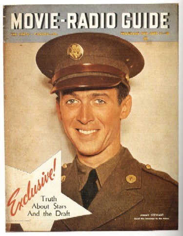 Jimmy Stewart Soldier WW2 Poster
