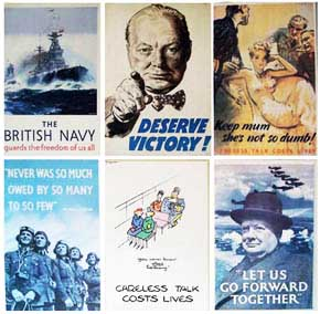 Careless Six WW2 Poster