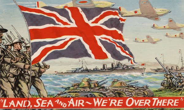 We're over there WW2 Poster